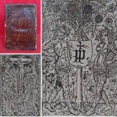 Libros antiguos: AÑO 1503 - GOTICO POST INCUNABLE - SAN BERNARDO DE CLARAVAL - GRABADOS - SERMONES. Lote 225428671