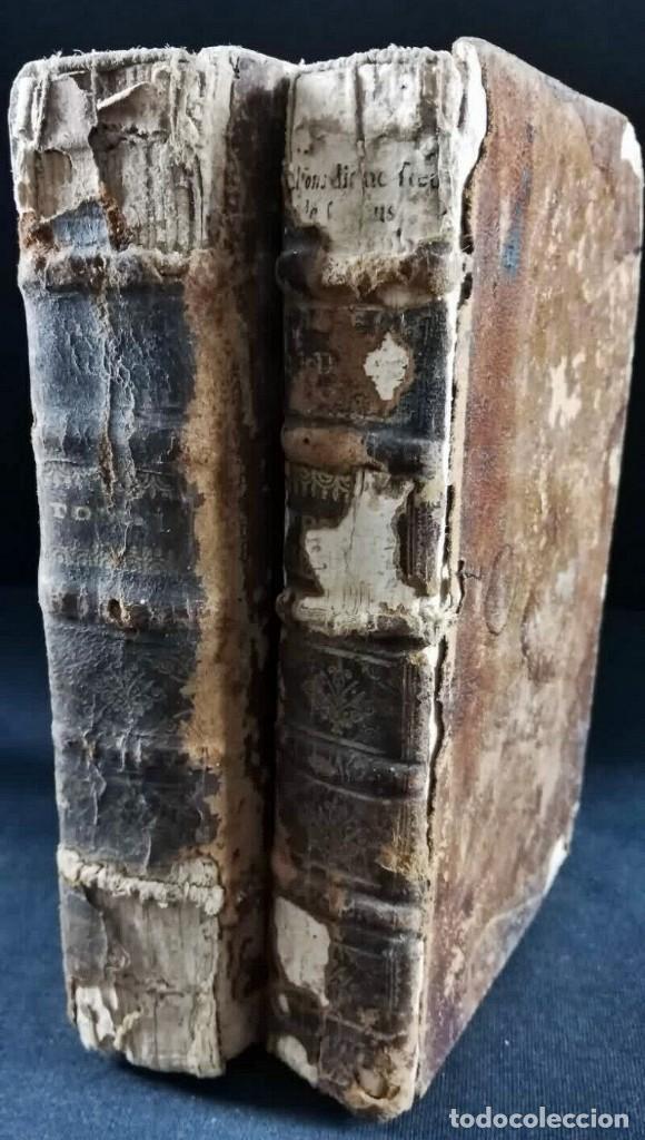 Libros antiguos: AÑO 1696: EL CATECISMO DEL CONCILIO DE TRENTO. 2 TOMOS DEL SIGLO XVII. - Foto 2 - 225591520