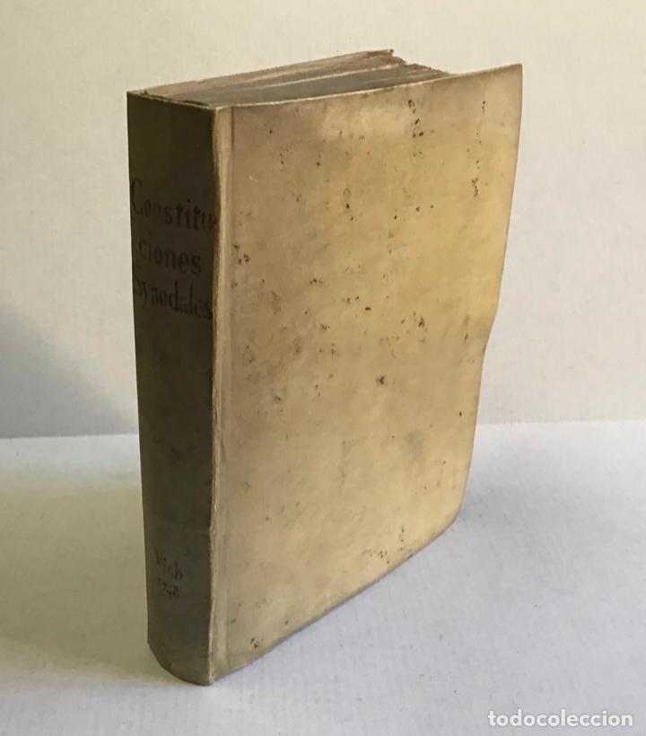 Libros antiguos: CONSTITUTIONES SYNODALES DIOEC. VICEN. IN UNUM COLLECTAE RENOVATAE & AUCTAE. - MUÑOZ, Emmanuele A. - Foto 2 - 226253215