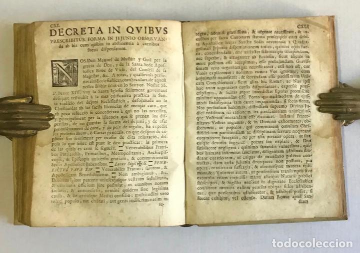Libros antiguos: CONSTITUTIONES SYNODALES DIOEC. VICEN. IN UNUM COLLECTAE RENOVATAE & AUCTAE. - MUÑOZ, Emmanuele A. - Foto 6 - 226253215