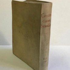 Libros antiguos: CONSTITUTIONES SYNODALES DIOEC. VICEN. IN UNUM COLLECTAE RENOVATAE & AUCTAE. - MUÑOZ, EMMANUELE A.. Lote 226253215