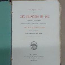 Libros antiguos: LIBRO DE SAN FRANCISCO DEL AÑO 1881. Lote 226370505
