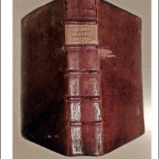 Livres anciens: AÑO 1759: CONCIONATORIUM. BELLO LIBRO DEL SIGLO XVIII EN LATÍN. Lote 226376567