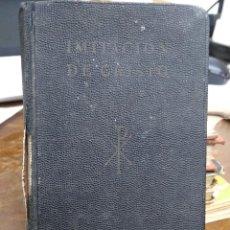 Libros antiguos: IMITACIÓN DE CRISTO. REI-9. Lote 226616775