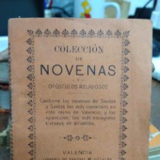 Libros antiguos: NOVENA AL GLORIOSO SAN ANTONIO DE PADUA. 1896. REI-12. Lote 226617805