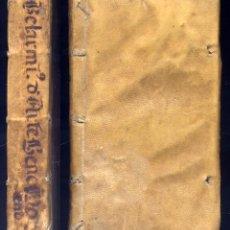 Old books: BELARMINO, ROBERTO , SANTO. DE ARTE BENE MORIENDI LIBRI DUO. 1620.. Lote 228180915