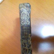 Libros antiguos: INTRODUCCION A LA VIDA DEVOTA. SAN FRANCISCO DE SALES.1877 LIBRERIA RELIGIOSA.BARCELONA.. Lote 228936365