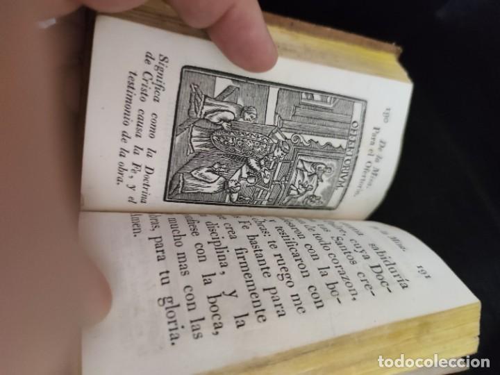 Libros antiguos: EJERCICIO COTIDIANO DE DIFERENTES ORACIONES-DON MANUEL MARTIN-1.825. - Foto 7 - 229260025