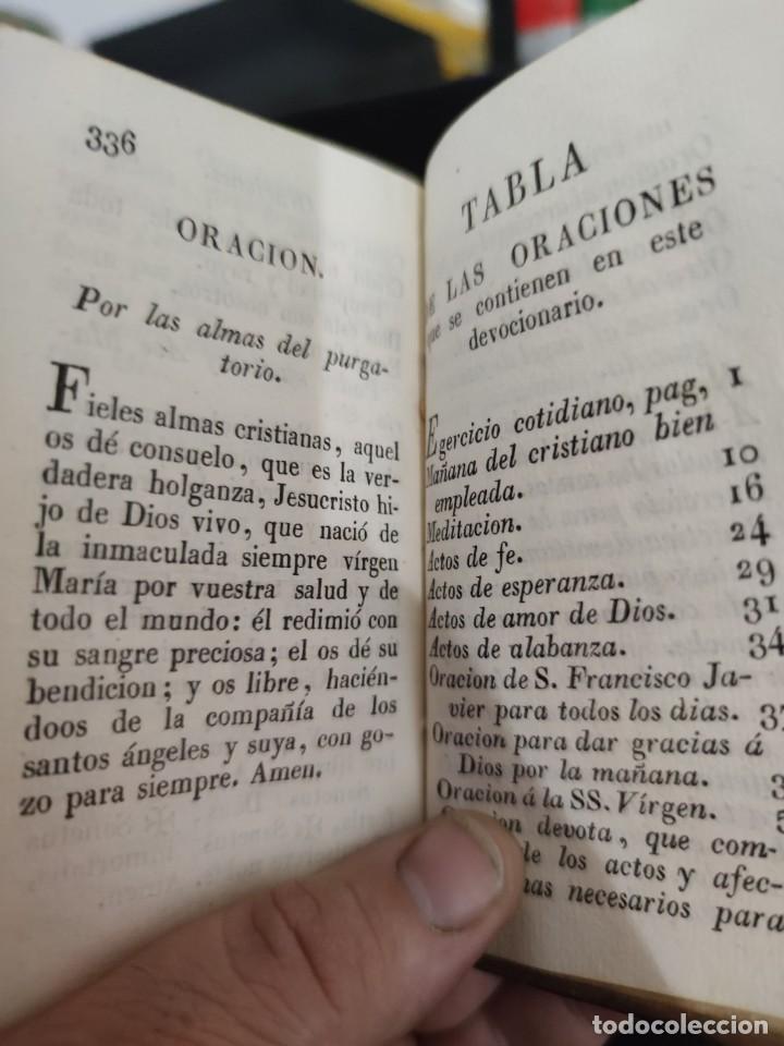 Libros antiguos: EJERCICIO COTIDIANO DE DIFERENTES ORACIONES-DON MANUEL MARTIN-1.825. - Foto 9 - 229260025
