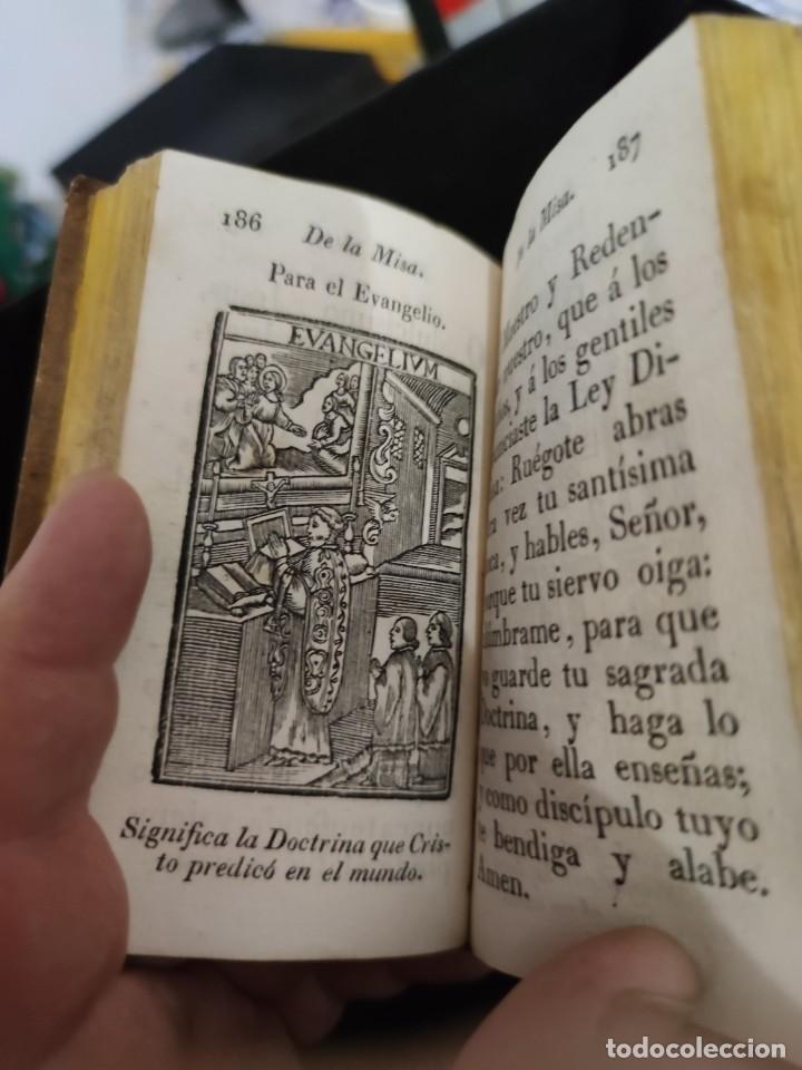 Libros antiguos: EJERCICIO COTIDIANO DE DIFERENTES ORACIONES-DON MANUEL MARTIN-1.825. - Foto 10 - 229260025