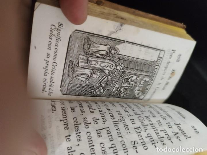 Libros antiguos: EJERCICIO COTIDIANO DE DIFERENTES ORACIONES-DON MANUEL MARTIN-1.825. - Foto 12 - 229260025