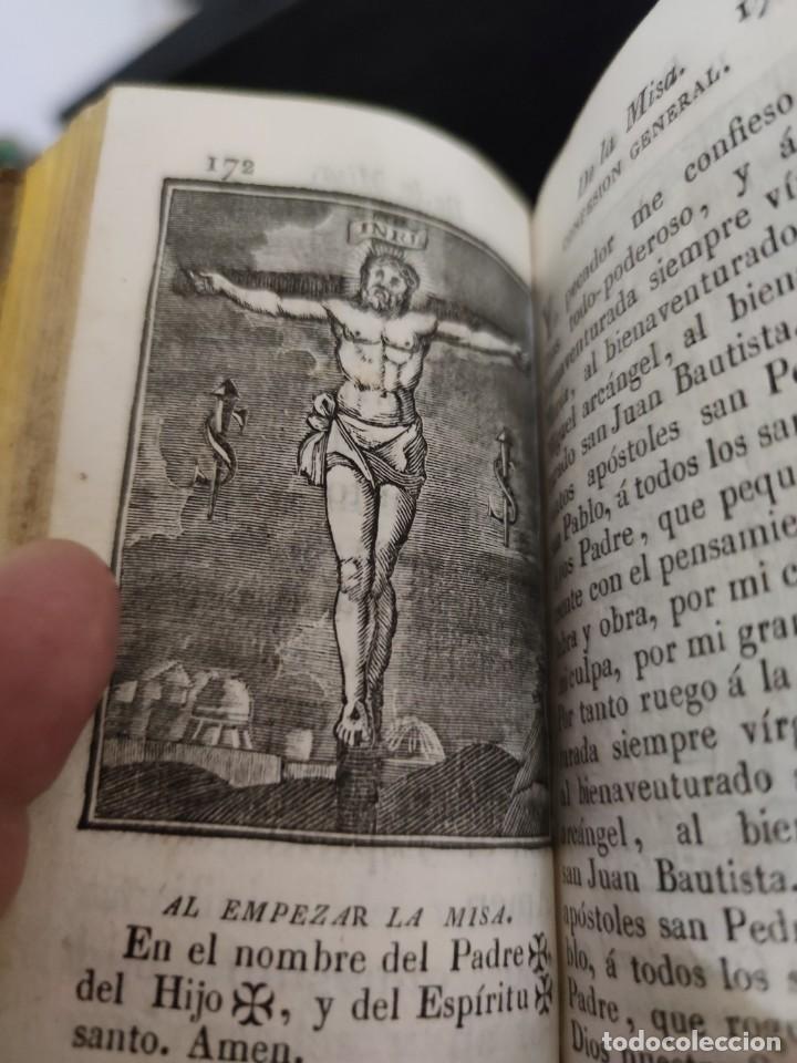 Libros antiguos: EJERCICIO COTIDIANO DE DIFERENTES ORACIONES-DON MANUEL MARTIN-1.825. - Foto 13 - 229260025