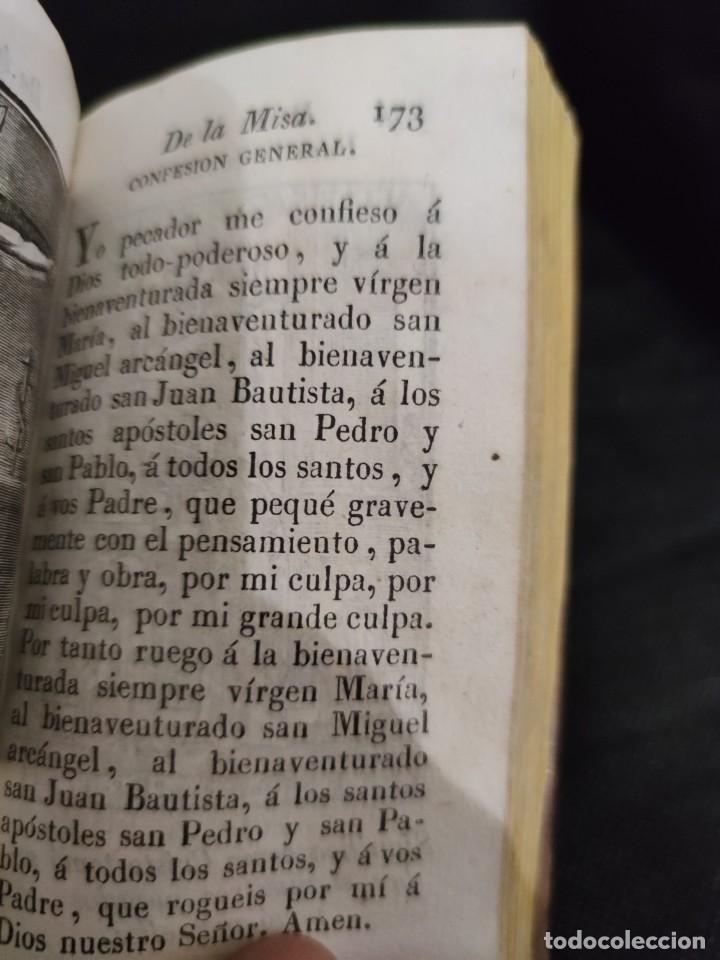 Libros antiguos: EJERCICIO COTIDIANO DE DIFERENTES ORACIONES-DON MANUEL MARTIN-1.825. - Foto 14 - 229260025