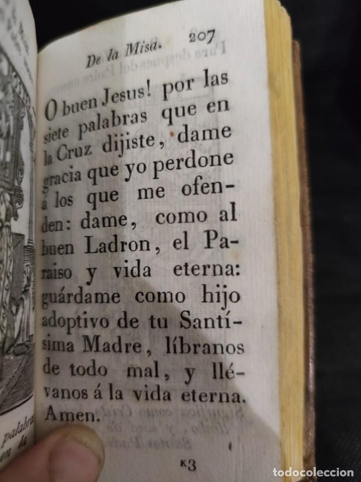 Libros antiguos: EJERCICIO COTIDIANO DE DIFERENTES ORACIONES-DON MANUEL MARTIN-1.825. - Foto 15 - 229260025