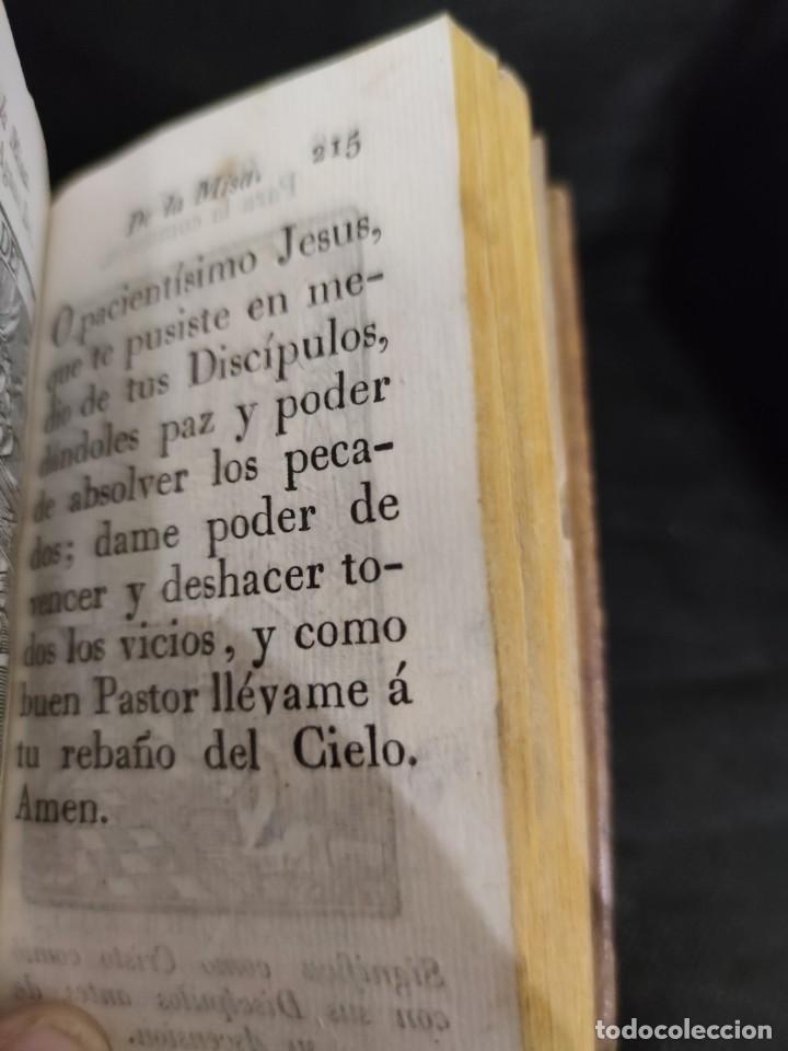 Libros antiguos: EJERCICIO COTIDIANO DE DIFERENTES ORACIONES-DON MANUEL MARTIN-1.825. - Foto 16 - 229260025