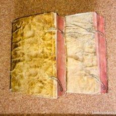 Libri antichi: AÑO 1599 - BENEDICTI PERERII VALENTINI: COMMENTARIORUM ET DISPUTATIONUM IN GENESIM - 2 TOMOS. Lote 229693615