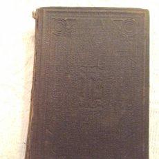 Libros antiguos: LIBRO DE LA ORACION Y MEDITACION. FRAY LUIS DE GRANADA.MADRID 1918.. Lote 230453480