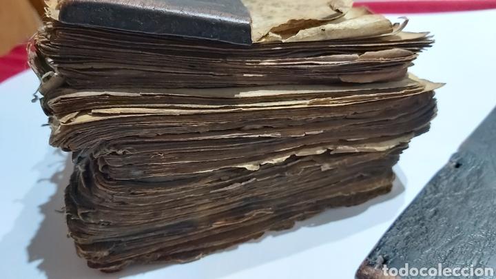 Libros antiguos: CODICE ETIOPE CRISTIANO COPTO S.XVII. MANUSCRITO BIBLIA ANTIGUA - Foto 9 - 230609675