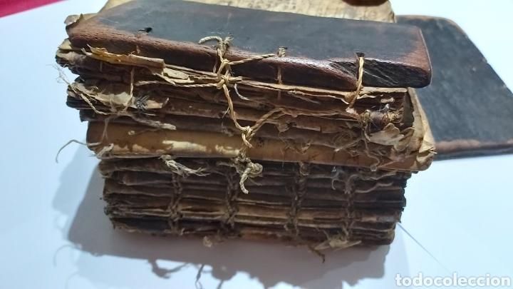 Libros antiguos: CODICE ETIOPE CRISTIANO COPTO S.XVII. MANUSCRITO BIBLIA ANTIGUA - Foto 10 - 230609675