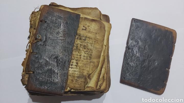 CODICE ETIOPE CRISTIANO COPTO S.XVII. MANUSCRITO BIBLIA ANTIGUA (Libros Antiguos, Raros y Curiosos - Religión)
