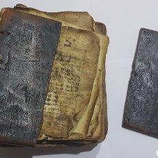 Libros antiguos: CODICE ETIOPE CRISTIANO COPTO S.XVII. MANUSCRITO BIBLIA ANTIGUA. Lote 230609675