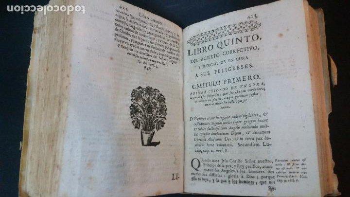 Libros antiguos: 1717 - ANTONIO JOSEPH DE ARREDONDO - Cura de Dios y Pastor de Jesu Christo - Foto 8 - 231302750
