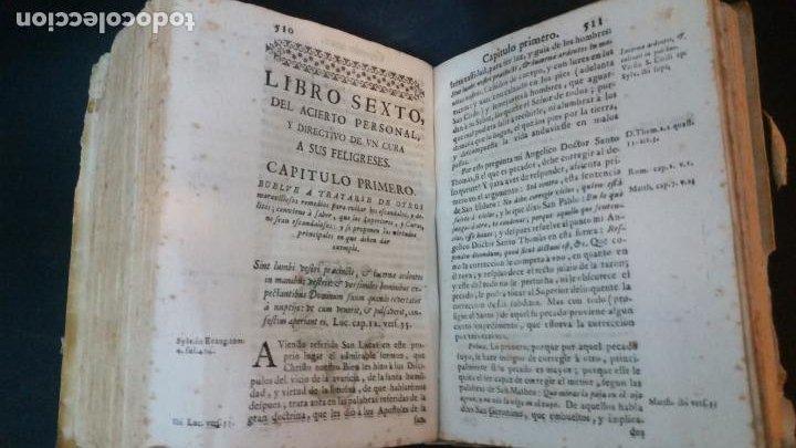 Libros antiguos: 1717 - ANTONIO JOSEPH DE ARREDONDO - Cura de Dios y Pastor de Jesu Christo - Foto 9 - 231302750