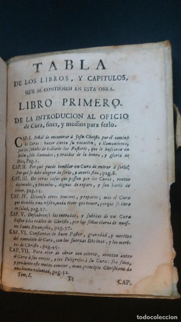 Libros antiguos: 1717 - ANTONIO JOSEPH DE ARREDONDO - Cura de Dios y Pastor de Jesu Christo - Foto 12 - 231302750