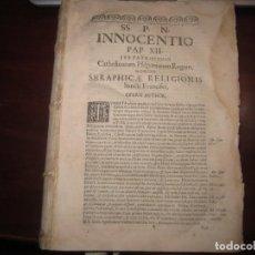 Libros antiguos: CATHOLICUM MYSTICAE CIVITATIS PRAESIDIUM ANTONIO RODRIGUEZ FEIJOO 1700 SALAMANCA. Lote 233463525