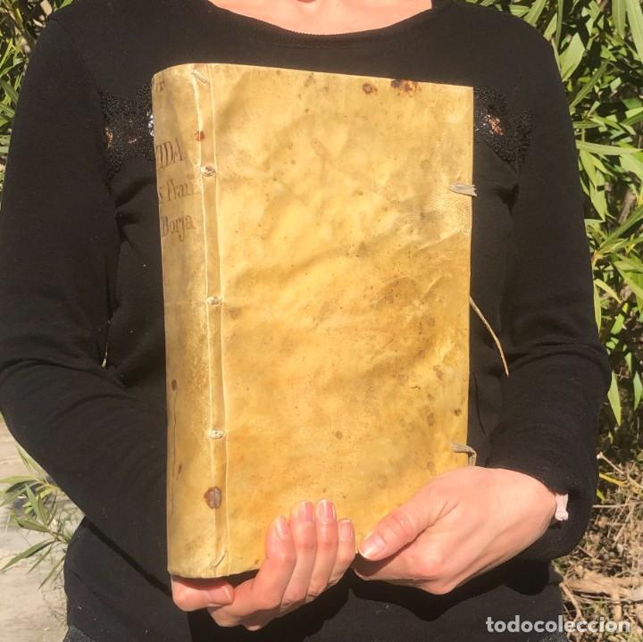 1702 LA HEROYCA VIDA, DEL GRANDE SAN FRANCISCO DE BORJA, DUQUE DE GANDIA - COMPAÑÍA DE JESÚS. (Libros Antiguos, Raros y Curiosos - Religión)