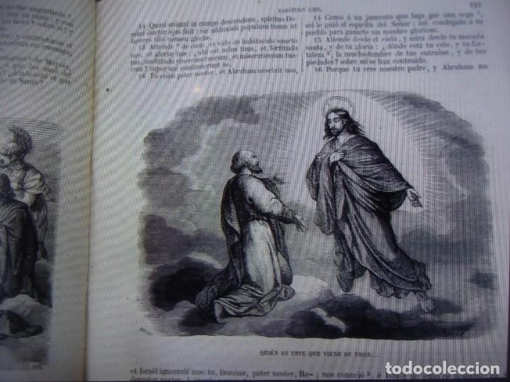 Libros antiguos: Phelipe Scio de S.Miguel -La Santa Biblia 5 TOMOS . (de la Vulgata Latina) - Foto 6 - 233708645