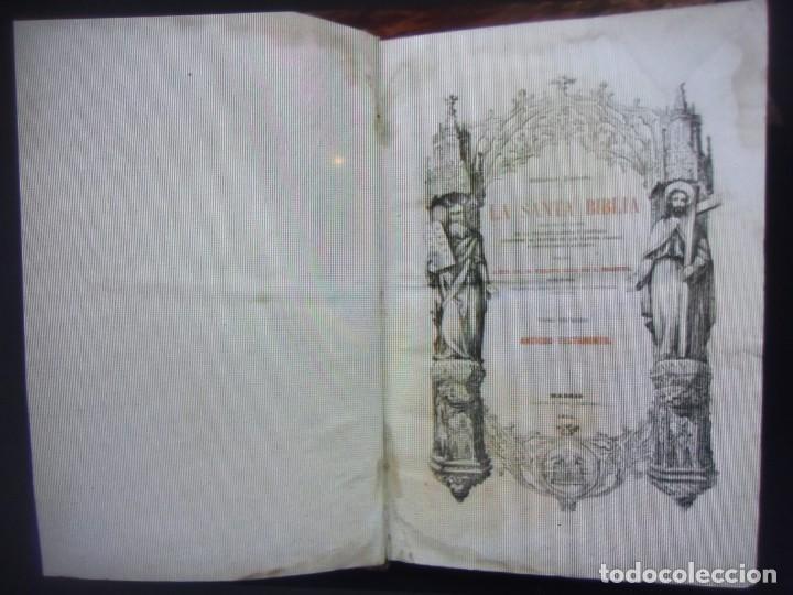 Libros antiguos: Phelipe Scio de S.Miguel -La Santa Biblia 5 TOMOS . (de la Vulgata Latina) - Foto 10 - 233708645