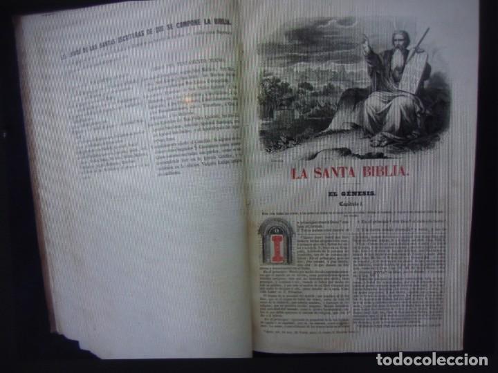 Libros antiguos: Phelipe Scio de S.Miguel -La Santa Biblia 5 TOMOS . (de la Vulgata Latina) - Foto 12 - 233708645