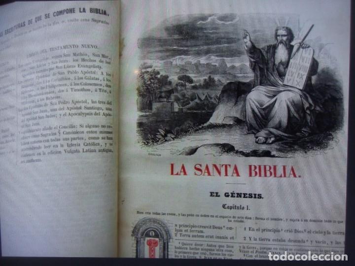 Libros antiguos: Phelipe Scio de S.Miguel -La Santa Biblia 5 TOMOS . (de la Vulgata Latina) - Foto 13 - 233708645