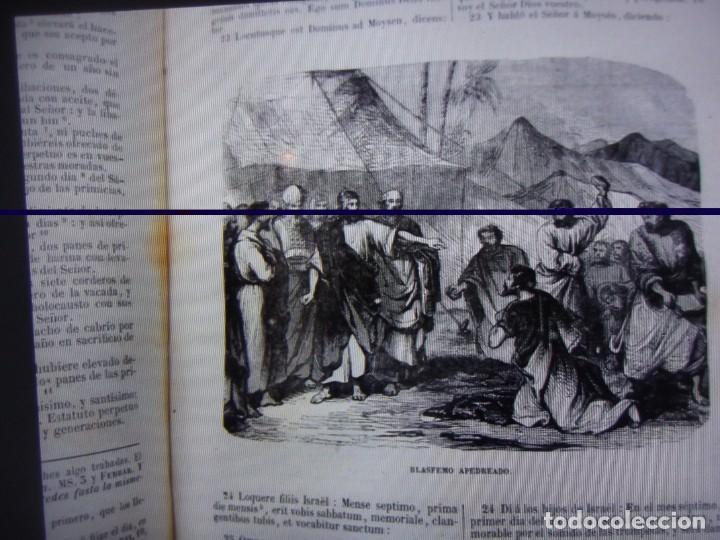 Libros antiguos: Phelipe Scio de S.Miguel -La Santa Biblia 5 TOMOS . (de la Vulgata Latina) - Foto 16 - 233708645