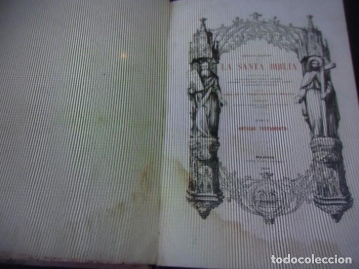 Libros antiguos: Phelipe Scio de S.Miguel -La Santa Biblia 5 TOMOS . (de la Vulgata Latina) - Foto 22 - 233708645