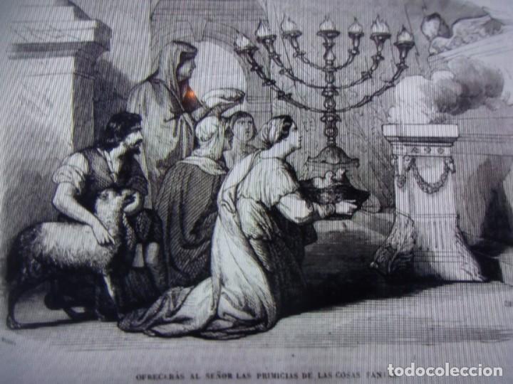 Libros antiguos: Phelipe Scio de S.Miguel -La Santa Biblia 5 TOMOS . (de la Vulgata Latina) - Foto 44 - 233708645