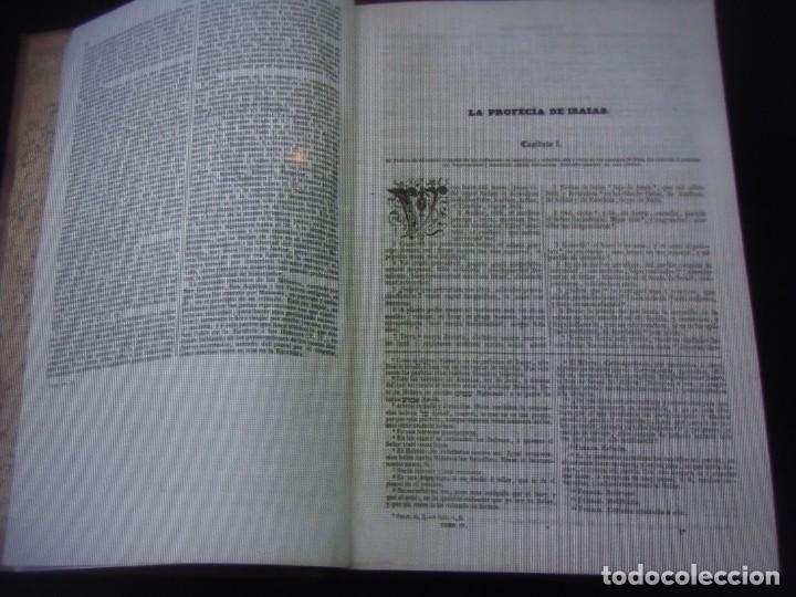 Libros antiguos: Phelipe Scio de S.Miguel -La Santa Biblia 5 TOMOS . (de la Vulgata Latina) - Foto 48 - 233708645