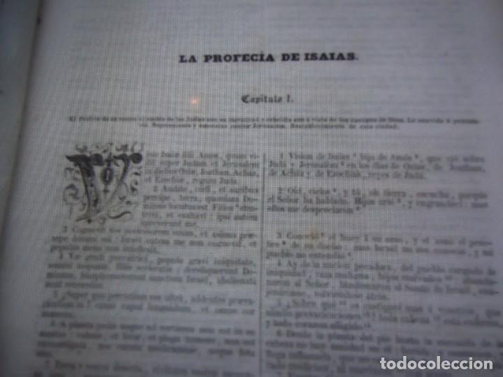 Libros antiguos: Phelipe Scio de S.Miguel -La Santa Biblia 5 TOMOS . (de la Vulgata Latina) - Foto 49 - 233708645