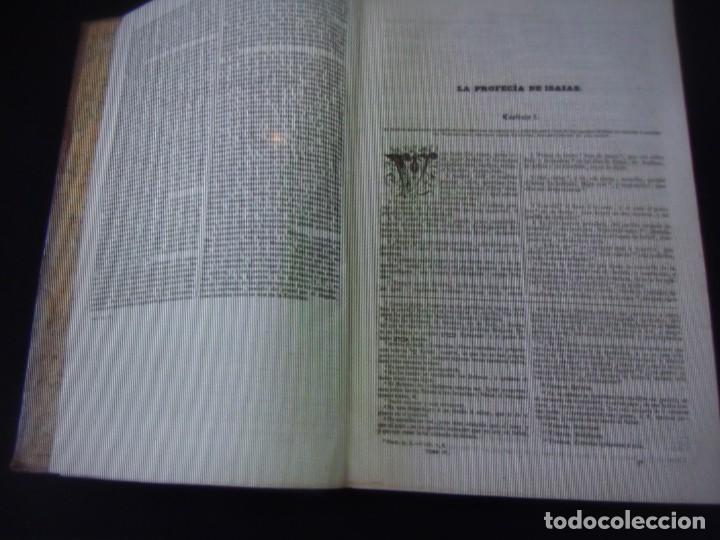 Libros antiguos: Phelipe Scio de S.Miguel -La Santa Biblia 5 TOMOS . (de la Vulgata Latina) - Foto 50 - 233708645