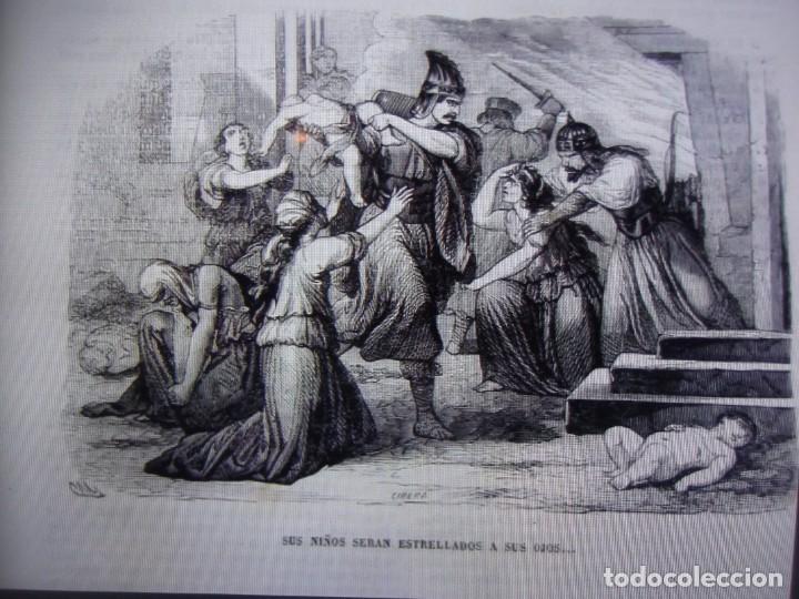 Libros antiguos: Phelipe Scio de S.Miguel -La Santa Biblia 5 TOMOS . (de la Vulgata Latina) - Foto 51 - 233708645