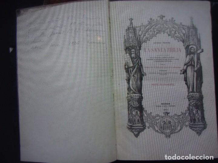 Libros antiguos: Phelipe Scio de S.Miguel -La Santa Biblia 5 TOMOS . (de la Vulgata Latina) - Foto 69 - 233708645