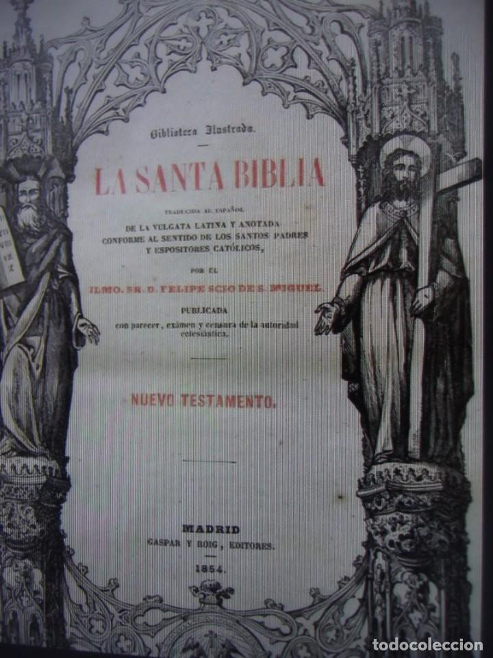 Libros antiguos: Phelipe Scio de S.Miguel -La Santa Biblia 5 TOMOS . (de la Vulgata Latina) - Foto 70 - 233708645