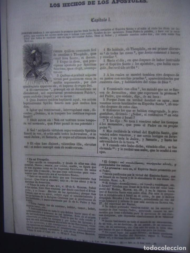 Libros antiguos: Phelipe Scio de S.Miguel -La Santa Biblia 5 TOMOS . (de la Vulgata Latina) - Foto 73 - 233708645