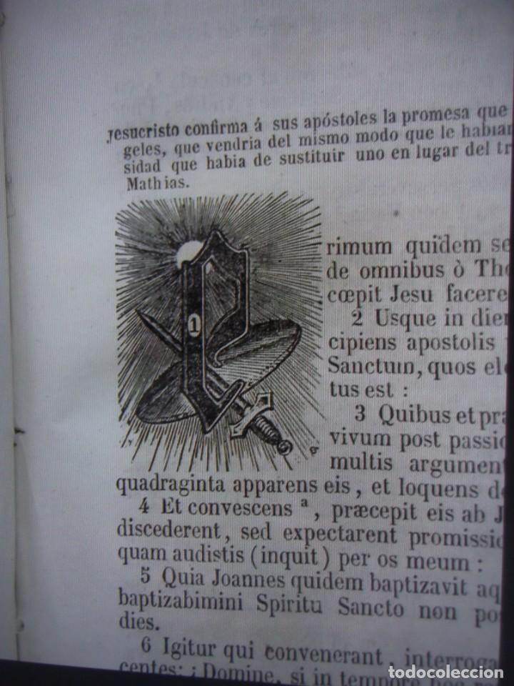 Libros antiguos: Phelipe Scio de S.Miguel -La Santa Biblia 5 TOMOS . (de la Vulgata Latina) - Foto 74 - 233708645