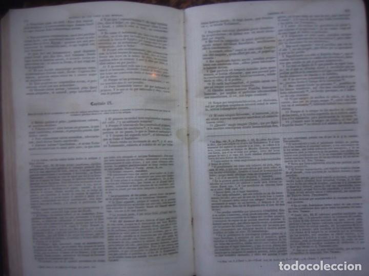 Libros antiguos: Phelipe Scio de S.Miguel -La Santa Biblia 5 TOMOS . (de la Vulgata Latina) - Foto 75 - 233708645