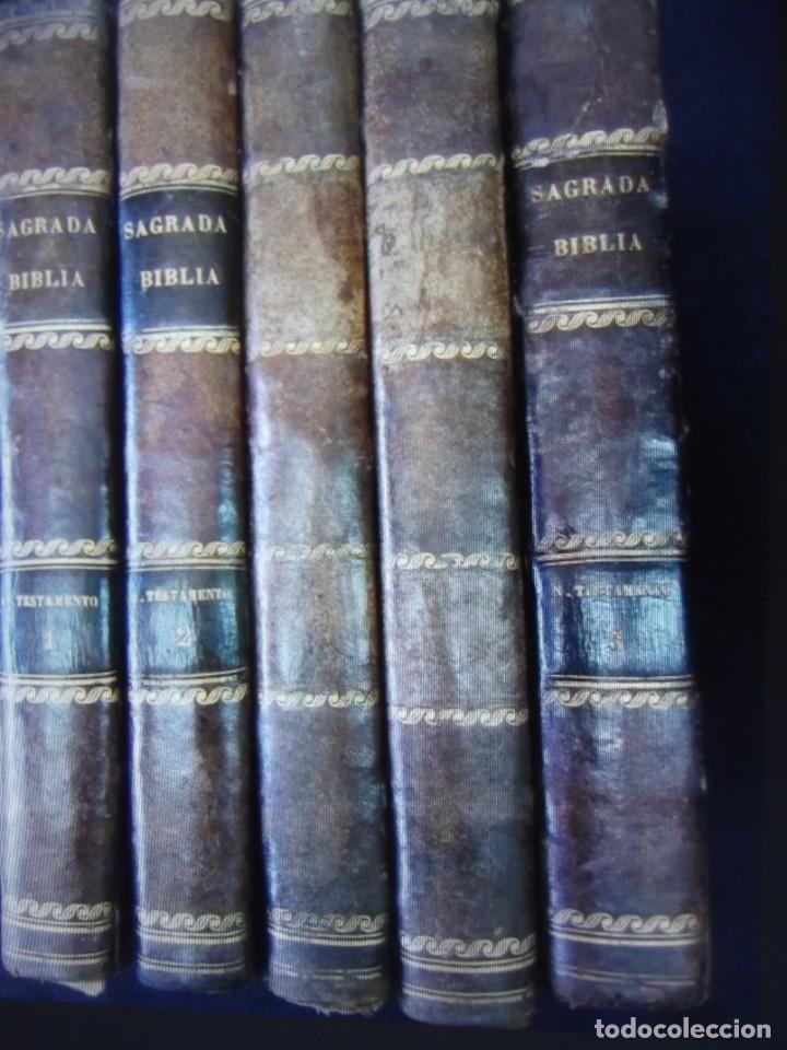 Libros antiguos: Phelipe Scio de S.Miguel -La Santa Biblia 5 TOMOS . (de la Vulgata Latina) - Foto 77 - 233708645