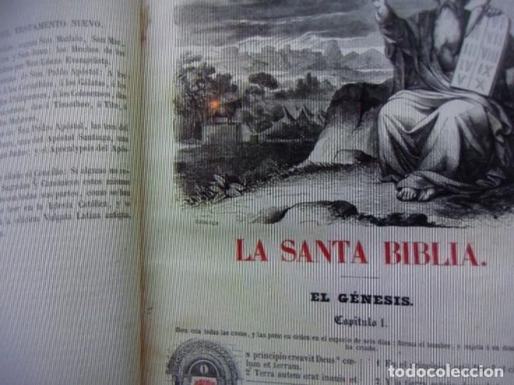 Libros antiguos: Phelipe Scio de S.Miguel -La Santa Biblia 5 TOMOS . (de la Vulgata Latina) - Foto 80 - 233708645