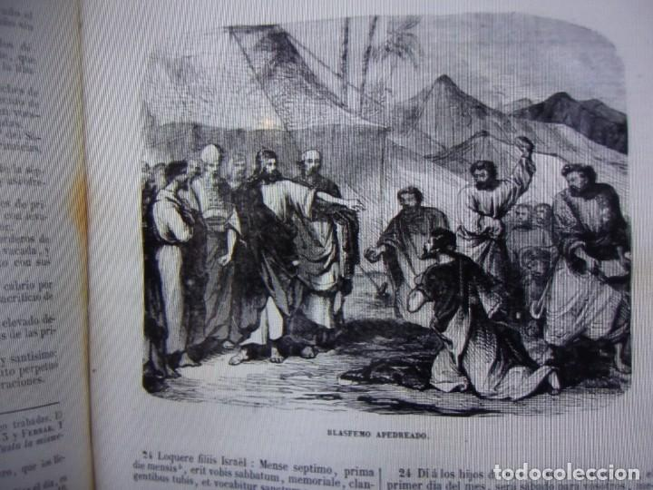 Libros antiguos: Phelipe Scio de S.Miguel -La Santa Biblia 5 TOMOS . (de la Vulgata Latina) - Foto 83 - 233708645