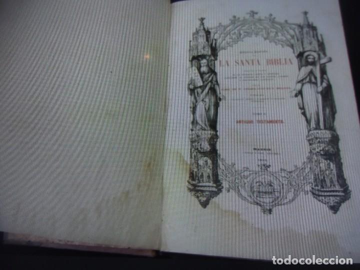 Libros antiguos: Phelipe Scio de S.Miguel -La Santa Biblia 5 TOMOS . (de la Vulgata Latina) - Foto 89 - 233708645